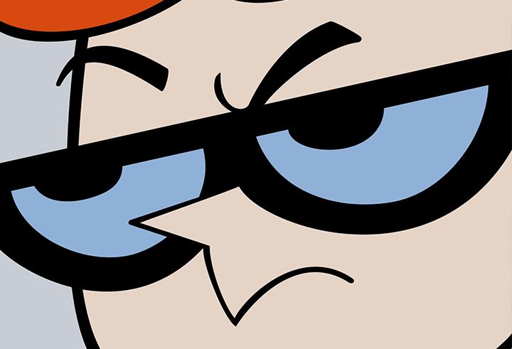 oculos desenho dexter