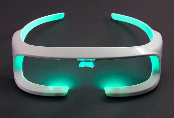 oculos tecnologia luz
